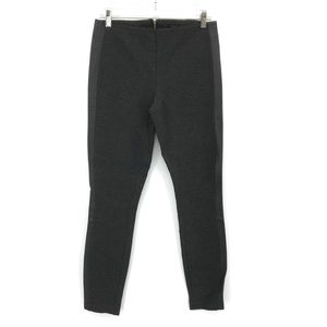 J.Crew Gray Skinny High Rise Faux Leather Pants